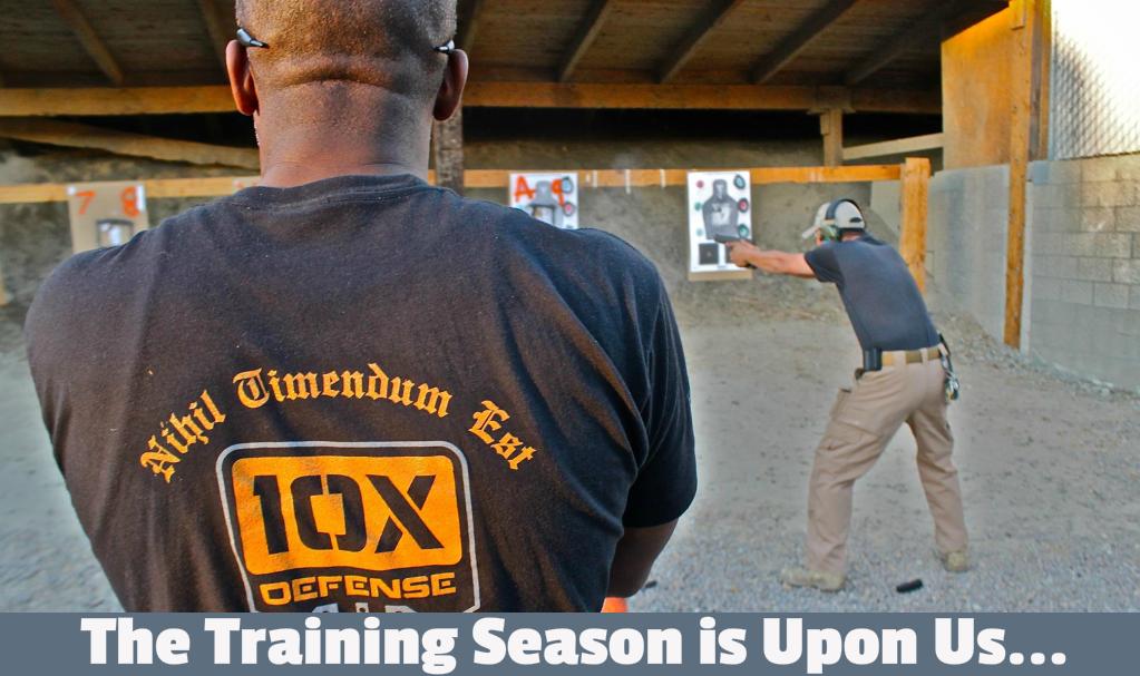 The Training Season Is Upon Us…